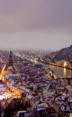 Heidelberg winter, Germany Check out our direct exchange program with Heidleberg University in Germany.