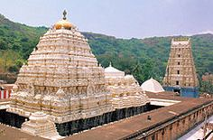 Simhachalam Temple. Simhadri or Simhachalam is a Hindu temple located in Visakhapatnam city suburb of Simhachalam in Andhra Pradesh, India. It is dedicated to Lord Narasimha (the man-lion), an incarnation (avatar) of Lord Vishnu. The central shrine was built in Kalinga architectural style.