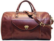... Duffel is the perfect leather duffel bag for those weekend getaways for  which a full set of standard luggage is not necessary. Fenzo Italian Bags 0ca57dad4bb9a