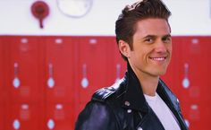 Aaron Tveit as Danny Zuko In Grease Live! Hot Actors, Actors & Actresses, Theatre Geek, Musical Theatre, Theater, Pretty People, Beautiful People, Danny Zuko, Grease Live
