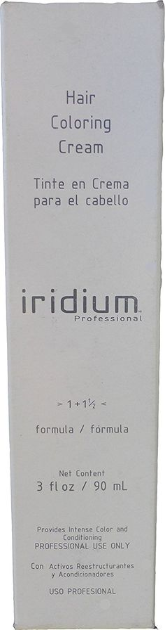 Iridium Hair Coloring Cream Formula 1 1 1/2 (3) Dark Brown 3 Oz -- For more information, visit image link.