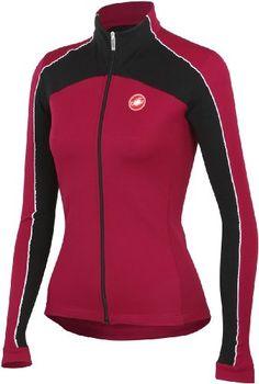 Castelli Viziata Womens Long Sleeve Jersey CherryBlack XS     Be sure to  check out this awesome product.Note It is affiliate link to Amazon.   FunCycling 6b44e79d6