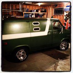 1976 Chevy Sport Van