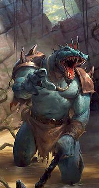 Image result for lizardfolk, volo's guide