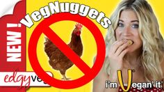 Vegan Vegetarian Chicken Nuggets (McNuggets Recipe) | Edgy Veg (+playlist)