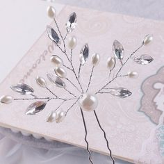 1PCS Crystal Flower Bridal Hair Pins Handmade Pearl Hairpins 2017 Elegant Headpiece Wedding Bridesmaid Jewelry Hair Accessories-in Hair Jewelry from Jewelry & Accessories on Aliexpress.com | Alibaba Group