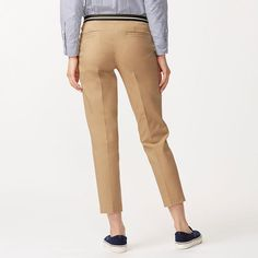 WOMEN COTTON BLENDED ANKLE LENGTH PANTS