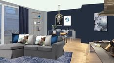 Visual of apartment in Clapham, South London. South London, Couch, Room, Furniture, Home Decor, Style, Bedroom, Swag, Settee