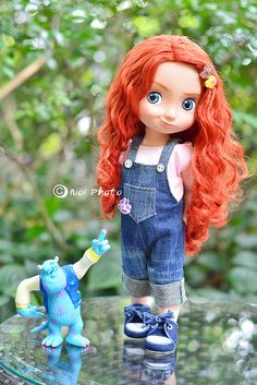 <3 THE RED HAIR AND BIG BLUE EYES! Disney Animators' Collection