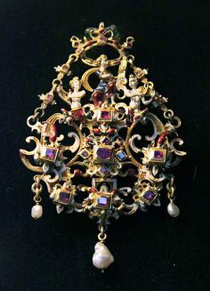 Hungarian, 17th century, Jewellery @ Hungarian National Museum - Budapest.