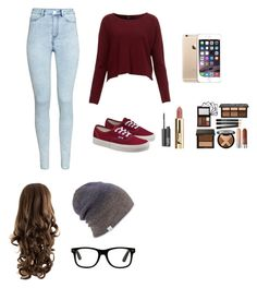 """Laza öltözet"" by tamihoran on Polyvore featuring H&M, Vans, NARS Cosmetics and Coal"