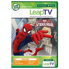 LeapFrog LeapTV Ultimate Spider-Man Educational, Active Video Game >>> More info could be found at the image url.