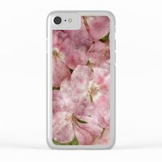 souvenir Clear iPhone Case by ARTbyJWP from Society6 #pink #floral #phonecase #iphonecases #clearcases  ---   Shop clear iPhone cases featuring brilliant patterns and designs on frosted, transparent shells - created by the world's best independent artists.