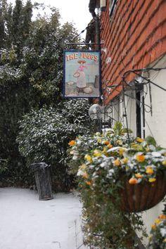Juggs at Kingston nr Lewes - 15th Century Pub on the South Downs, England