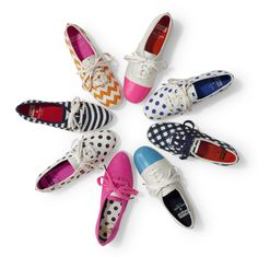 Custom Paint Keds Sneakers...This photo gave me the idea to custom design our own