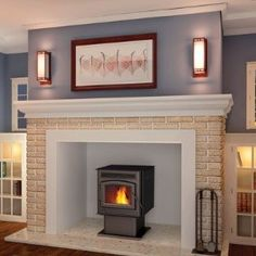 1000 images about Wood burning stove ideas on Pinterest