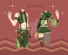 Outfit Adoptables # by gc-adopt on DeviantArt Character Outfits, Twins, Adoption, Deviantart, Movie Posters, Movies, Fictional Characters, Inspiration, Female