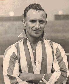 Arthur Wright of Sunderland in Sunderland Afc, Huddersfield Town, Fa Cup, Corinthian, Black Cats, 1930s, Champion, Soccer, Vintage