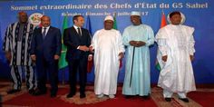"""Top News: """"AFRICA POLITICS: French, West African Presidents Launch Sahel Force"""" - https://i1.wp.com/politicoscope.com/wp-content/uploads/2017/07/AFRICA-POLITICS-French-West-African-Presidents-Launch-Sahel-Force.jpg?fit=1000%2C500 - Mali's President Ibrahim Boubacar Keita says, """"It's also clear that France alone must not continue to bear the burden of this fight against terrorism.""""  on Politics - http://politicoscope.com/2017/07/03/africa-politics-french-west-african-president"""