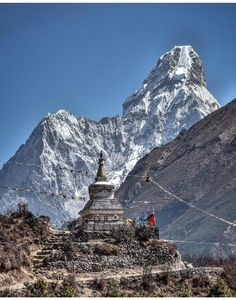 High in the Himalayan Mountains lies the small Kingdom of Nepal, with its lofty mountains, deep vall Places To Travel, Places To See, Travel Destinations, Bhutan, Voyage Nepal, Zhangjiajie, Mount Everest, Trekking, Tourism