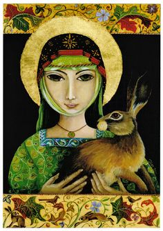 Jemima Jameson, St Melangell the Hare