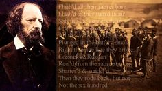 Tennyson ~ Charge of the Light Brigade ~ poem with text