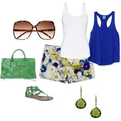 Summer Day!, created by tracigayle on Polyvore