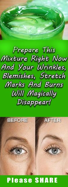 In Just 3 Use Of This Mask All Wrinkles Will Disappear From Your Face!!