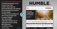 Humble - Portfolio and Business Theme