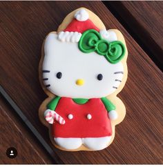 Hello Kitty Cookie for Christmas