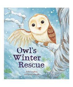 Another great find on #zulily! Owl's Winter Rescue Hardcover #zulilyfinds
