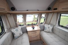 Coachman Vision 570 6 Berth Caravan 2014 Model Image 6 Berth Caravan, Caravan Renovation Diy, Caravans For Sale, Derbyshire, Camper Van, Bunk Beds, Model, Furniture, Image