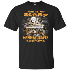 Scary Marimba Costume Kids