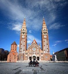 Szeged Heart Of Europe, Old Art, Cathedrals, Notre Dame, Countryside, Cities, To Go, Study, Architecture