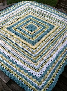 Ravelry: Faeries- Baby Sampler Afghan pattern by Elizabeth Mareno http://www.ravelry.com/patterns/library/faeries--baby-sampler-afghan
