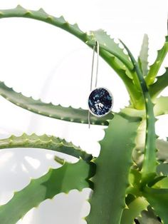 The Universe at our disposal. 925 Silver, Universe, Organic, Spring, Green, Earrings, Jewelry, Ear Rings, Stud Earrings