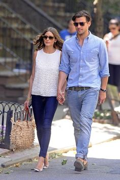 Olivia Palermo Photos  - Olivia Palermo and Johannes Huebl Out in the West Village - Zimbio
