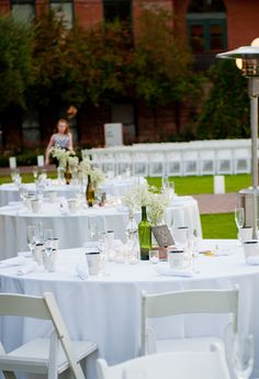 Wine Bottle Focal Point - Atlasta Catering and Event Concepts