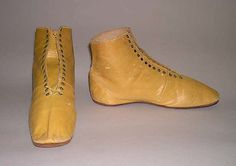 1830-49 Boots (Booties), American
