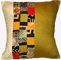 African Inspired Pillow