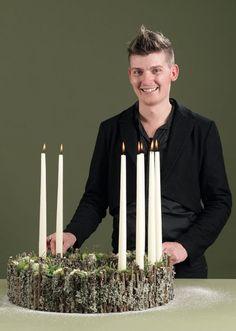 Lars Jon er uddannet blomsterdekoratør og arbejder i Blomsten Hornbæk, der åbnede sidste sommer og er en del af Ilse Jacobsens univers i den nordsjællandske by.