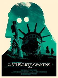Joshua Budich – Spaceballs – The Schwartz Awakens | Geek Art – Art, Design, Illustration & Pop Culture ! | Art, Design, Illustration & Pop Culture !