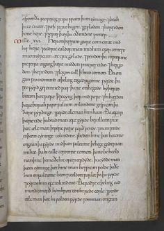 MANUSCRIPT: Anglo-Saxon Chronicles now online!