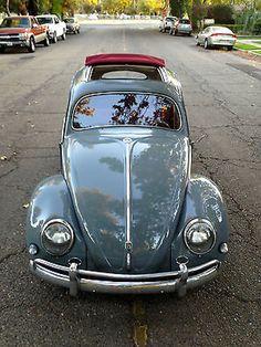 Volkswagen : Beetle - Classic Deluxe Oval Window Ragtop 1957 Volkswagon Beetle Oval Window Ragtop - http://www.legendaryfind.com/carsforsale/volkswagen-beetle-classic-deluxe-oval-window-ragtop-1957-volkswagon-beetle-oval-window-ragtop/