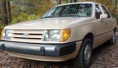Diesel 5-Speed: 1984 Ford Tempo Survivor #Oddballs #Ford - https://barnfinds.com/diesel-5-speed-1984-ford-tempo-survivor/