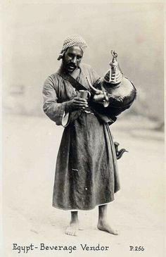 1930s Egypt Lemonade Seller. S)