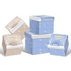 Wholesale Christmas gift packaging kraft paper box - Christmas gift box