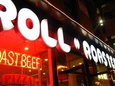 Used to go here all the time!   roll n roaster! Mmmmm by irockiroll, via Flickr