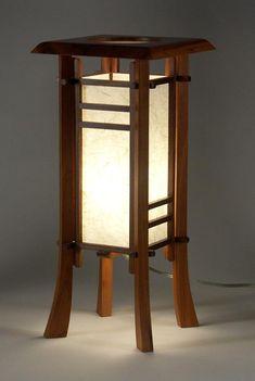 CHERRY STREET JAPANESE STYLE TABLE LAMP