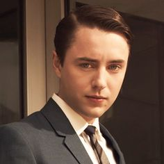 I'm only five episodes into Mad Men via Netflix, but I hate Peter Campbell...yes I do.